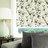 Photo of floral Patterened Blinds